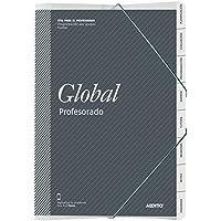 Additio P172 - Carpeta Global para el profesorado, color gris