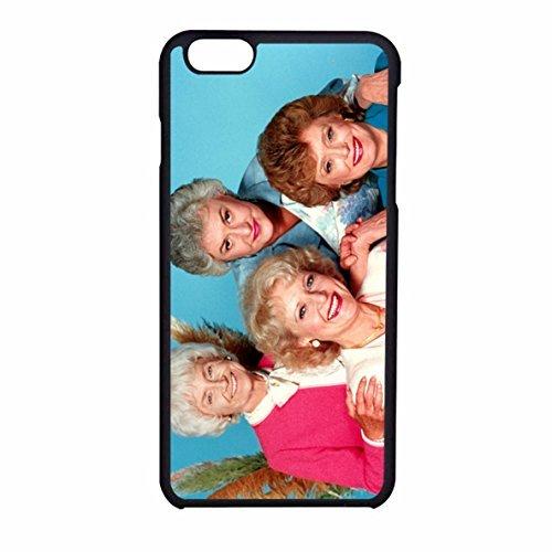 golden-girl-5-iphone-6-6s-case-black-plastic