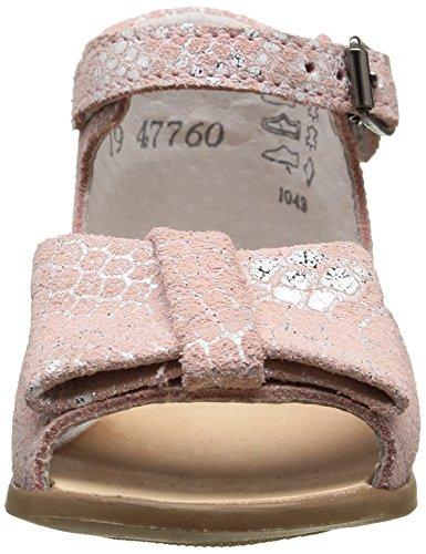 Little Mary Maryse, Chaussures Premiers pas bébé fille Rose (Lezard Rosa)