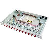 Telegärtner spleiss Box bestueckt 1HE h02030g0590base V 6X LCD OM4Patch Panel in fibra ottica 4018359396145