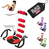 Xn8sport ABS Rocket sedia divano per allenamento fitness palestra addominali esercizio crunches Machine Home Gym esercizio, Red