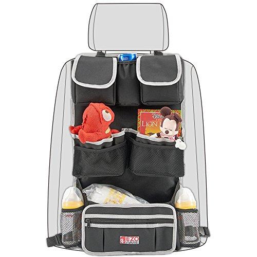 Organizador Coche,EZOWare EZOWare Auto Asiento Trasero,Protectores contra patadas para asiento de coche