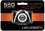 Ledlenser SEO Headband for B3, B5R, SEO3/5/7R, 0376 - Red, Hang Pack