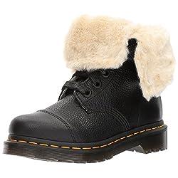 dr. martens womens aimilita furlined black boot - 51dFNg1Gn1L - Dr. Martens Womens Aimilita Furlined Black Boot