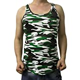 Camouflage Weste ,KIMODO Camouflage Männer Casual Tank Tops Sport Weste Ärmelloses T-Shirt T Shirt (L, Camouflage)