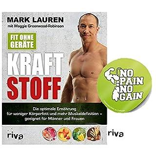 Riva Fit Ohne Geräte - Kraftstoff: Die Optimale Ernährung für Weniger Körperfett und Mehr Muskeldefinition Geeignet für Männer und Frauen Taschenbuch + 1