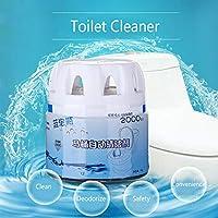 ljym88 Toilet Cleaner Flush Bottled Fragrance Portable Magic Helper Bathroom Quick Foam Automatic Hotel Blue Bubble Deodorizes Drain Home