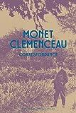 Monet Clémenceau - Correspondance