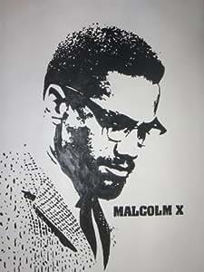 Malcolm X 28 X 16 peinture à l'huile sur toile encadrée, mais seules sont disponibles, veuillez nous contacter pour plus de détails.
