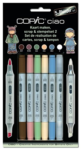COPIC ciao Set 5+1 Scrap & Stempelset 2
