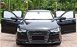 BMDHA Auto Sol Protección Parabrisas Delantero Papel De Aluminio Completamente Cerrado Interior Sin...
