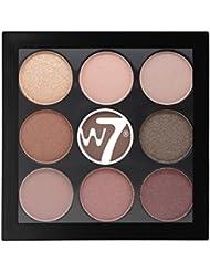 W7 The Naughty Nine Shades of Eye Colour Eyeshadow Palette-Mid Summer Nights
