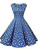 Dresstells Vintage 1950's Audrey Hepburn robe de soirée cocktail, bal ...