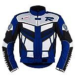 Yamaha Blau Motorrad Textil Jacke ((L (EU52-54)))