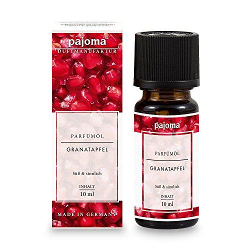 pajoma Parfümöl ''Granatapfel'', 10 ml, feinste Parfümöle in Geschenkverpackung - Granatapfel-parfüm Öl