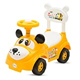 #7: Baybee Rusty Ride On Push Car Toy I No batteries, Gears, or Pedals,Twist, Turn Push Car Toy for endless fun I Suitable For Boys & Girls - Yellow