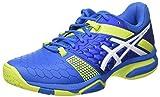 ASICS Herren E608y4377 Handballschuhe, Blau (Directoire Blue/Energy Green/White), 44 EU