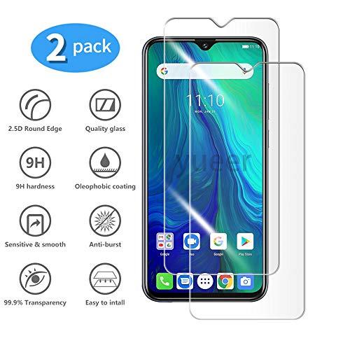 yueer [2 Pack Ulefone Power 6 Pellicola Protettiva in Vetro Temperato [Durezza 9H][Anti-Graffo] [Nessuna Bolla].