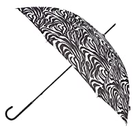 totes Ladies Elegant Walking Umbrella Zebra
