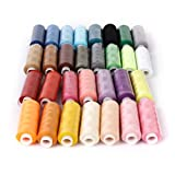 #10: Imported Polyester Sewing Quilting Threads 40S/2 Pack of 30 Spools Assorted C...-15012867MG