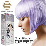 Smart Pastell Lila Haze Haar Farbe x 3