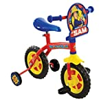 Fireman Sam M14372 2-in-1 Training Bike, 10-Inch