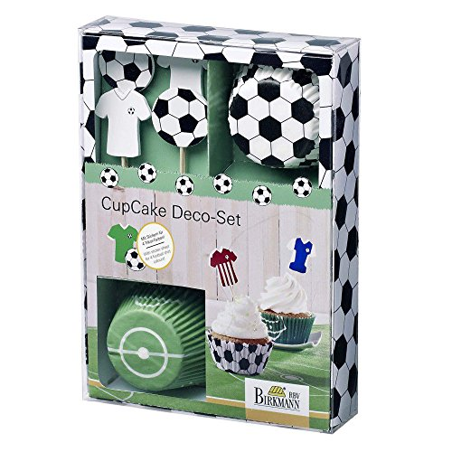 Birkmann 441644 Cupcake Deco-Set, Kick it -