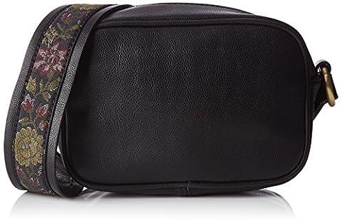 edc by Esprit Damen 087ca1o001 Schultertasche, Schwarz (Black), 8,5 x 12,5 x 19 cm