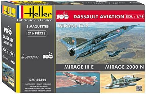 Joustra - 52322 - Coffret 100 Ans Dassault Aviation 3 MODELES -   Apparence Attrayante