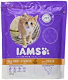 Iams Kitten Trockenfutter (mit viel Huhn, für Junge Kätzchen bis 12 Monate, enthält viel Hochwertiges tierisches Protein), 300 g