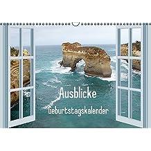 Ausblicke / Geburtstagskalender (Wandkalender immerwährend DIN A3 quer): Gönnen Sie sich einen Ausblick in die Natur (Monatskalender, 14 Seiten) (CALVENDO Natur) [Kalender] [Nov 30, 2013] Stein, Gaby
