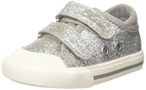 Chicco Galassia, Sneakers Bimba, Argento, 18 EU