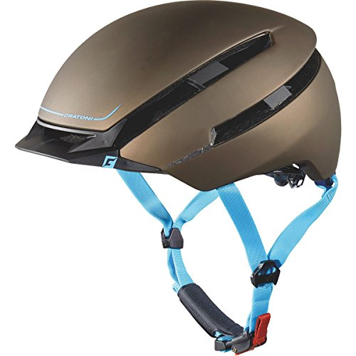 Cratoni C-Loom helmet 2016 Brown blue Rubber M-L