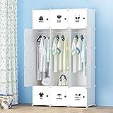 Armario de plástico armario combinado de bricolaje gabinetes blancos sencillos...
