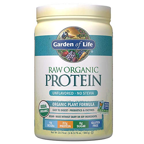 Garden of Life Raw Organic Protein Powder, Unflavoured