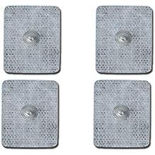 Elettrodi pregegellati compatibili 45 x 35 mm, confezione 4 pezzi