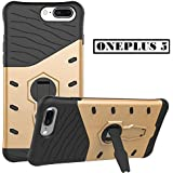Vinnx Hybrid Armor Design Detachable And 360 Degree Portrait And Landscape Stand-up Feature Dual Layer Protective Shell Hard Case For OnePlus 5