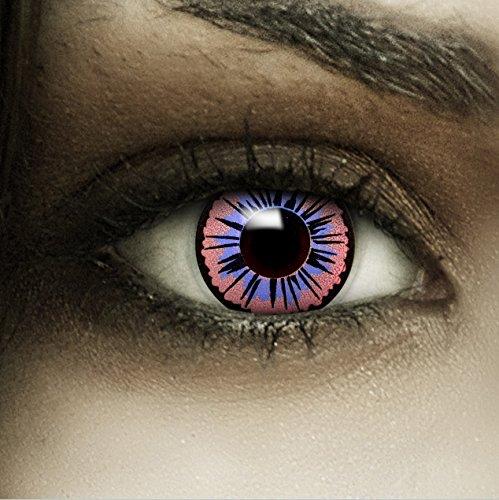 Farbige lilane Kontaktlinsen