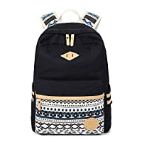 Abshoo Canvas Lightweight Student Backpacks for Girls School Bags