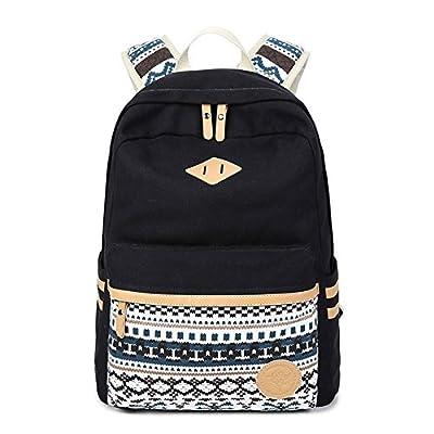 Abshoo Canvas Lightweight Student Backpacks for Girls School Bags - childrens-backpacks