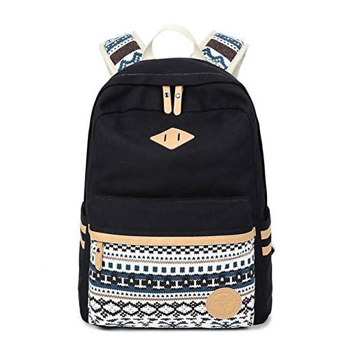 95a571e22d5c Abshoo Canvas Lightweight Student Backpacks for Girls School Bags ...