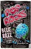Pop Rocks Candy Bonbons Pétillants Blue Raspberry 11 g - Lot de 8