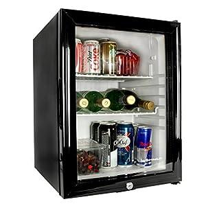 bar@drinkstuff Frostbite Glass Door Mini Bar 35ltr - Counter Top Fridge with Lock, Suitable for Milk Overnight by bar@drinkstuff