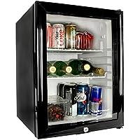 Bar@drinkstuff Frostbite Glass Door Mini Bar 35ltr   Counter Top Fridge  With Lock,