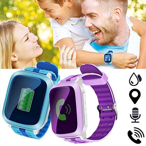 Reloj Inteligente para niños con localizador GPS WiFi - Reloj de Pulsera...