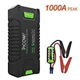 Car Jump starter, Picowe 1000A Peak Ampere Portable Jump Starter Pack Full Support ALL Gas Vehicle Engine, Up To 8.0L Diesel, 20000mAh 12V Car Battery Booster (T242)