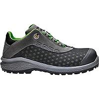 BASE PROTECTION BAS-B879-9 Be- Shiny Safety Shoes, Grey, UK 9/EU 43