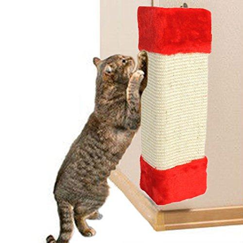 Yogogo Jouets à L'Herbe à Chat Planche à Griffer D'Angle Pour ProtéGer Mobilier Et Murs En Sisal Chats Suspendus Griffoir De Chat