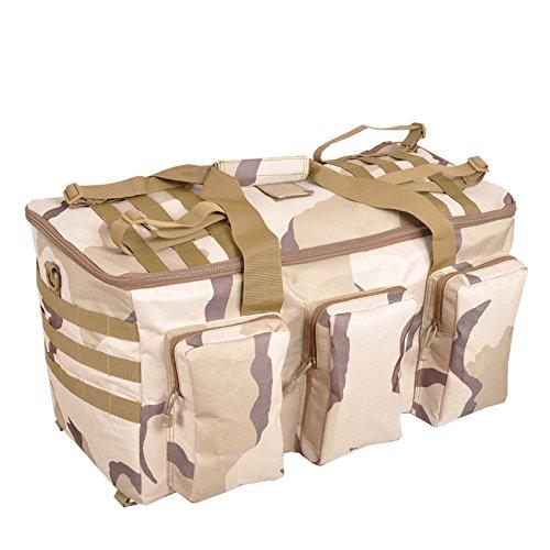 Langstrecken-Reisen Outdoor Rucksack Wasserdicht Reisetaschen-Rucksack Rucksack Tasche Sube Super Kapazität Drei Camouflage
