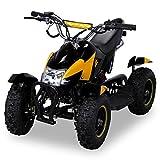 Miniquad Kinder Cobra ATV gelb / schwarz
